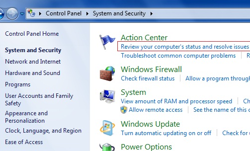 How to resolve issues in Windows 7