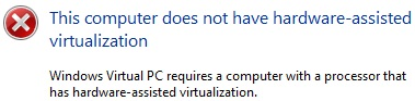 Microsoft Virtualization Check Tool