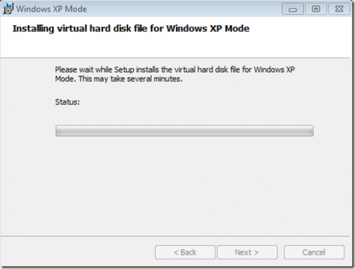 Install XP Mode