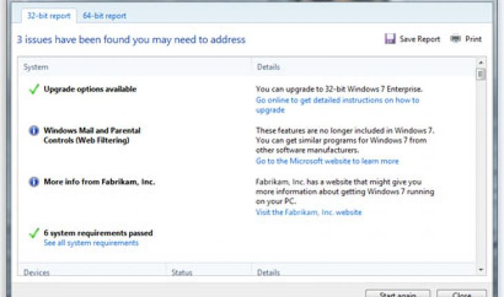 Check Windows 7 compatibility with Windows 7 Upgrade Advisor