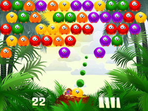 Bubble Birds for blackberry playbook