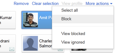 Google+ Tricks: Block unwanted profiles