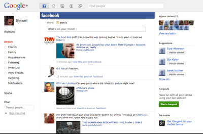 Integrate Facebook and Twitter into your Google+ account