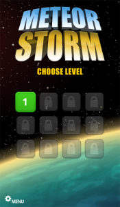 MeteorStorm for blackberry playbook