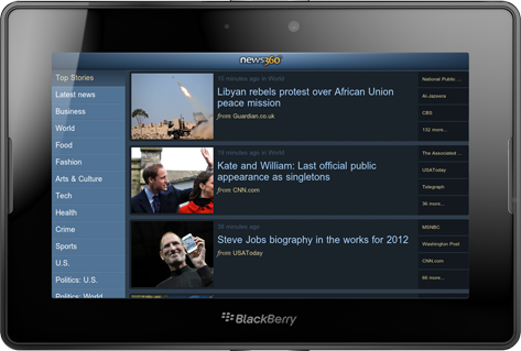 News 360 - Read news on Android, BlackBerry PlayBook, iPad, iPhone and Windows Phone