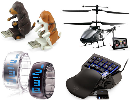 Online Stores who sell funny and fascinating Tech Gadgets