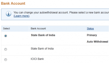 PayPal offers Make Auto Withdrawal