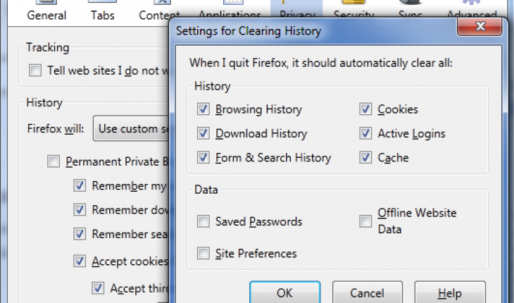 Firefox Saved Passwords 4
