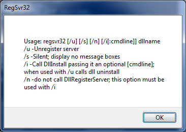 How to Register a DLL 1