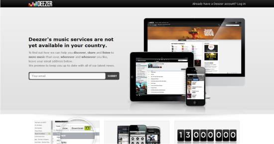 Online Services to Stream and Listen to Music Deezer